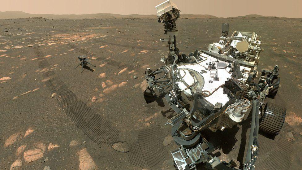 Мисията на хеликоптера на Марс беше  удължена с 30 дни – снимки, видео