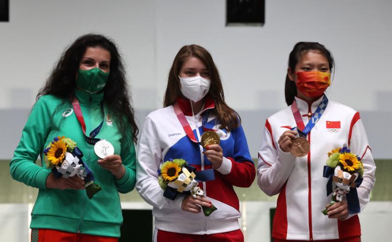 Първи български олимпийски медал: Антоанета Костадинова със сребро – снимки