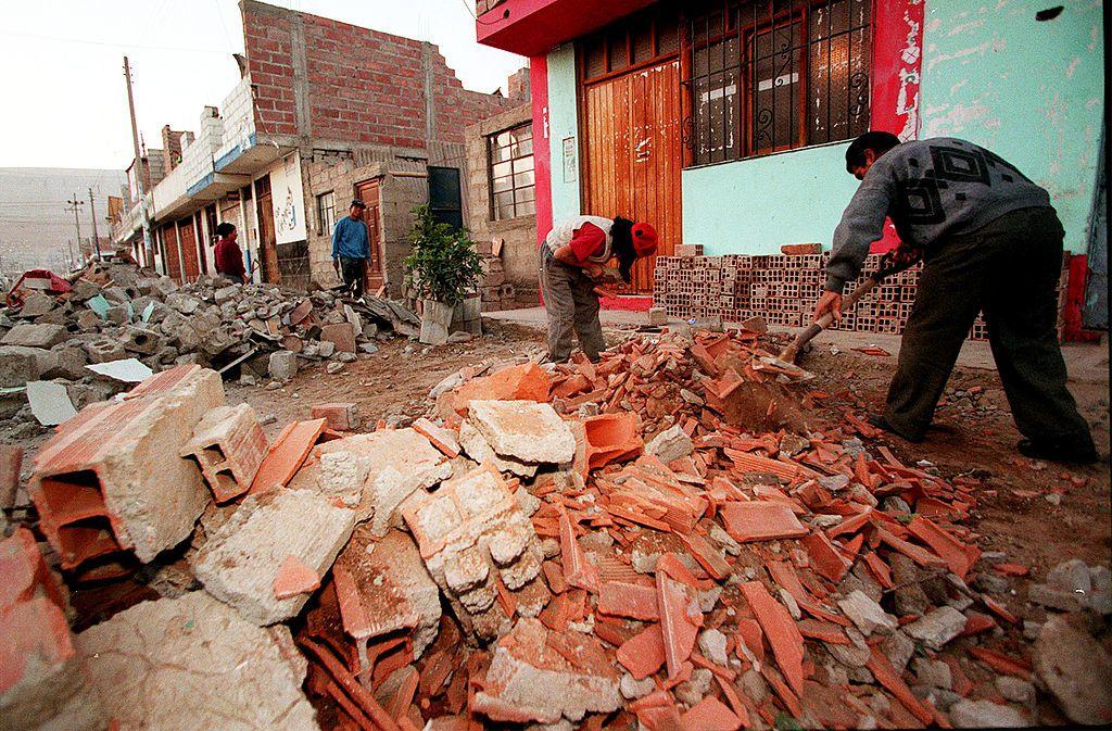 Над 40 ранени при земетресението в Перу – снимки