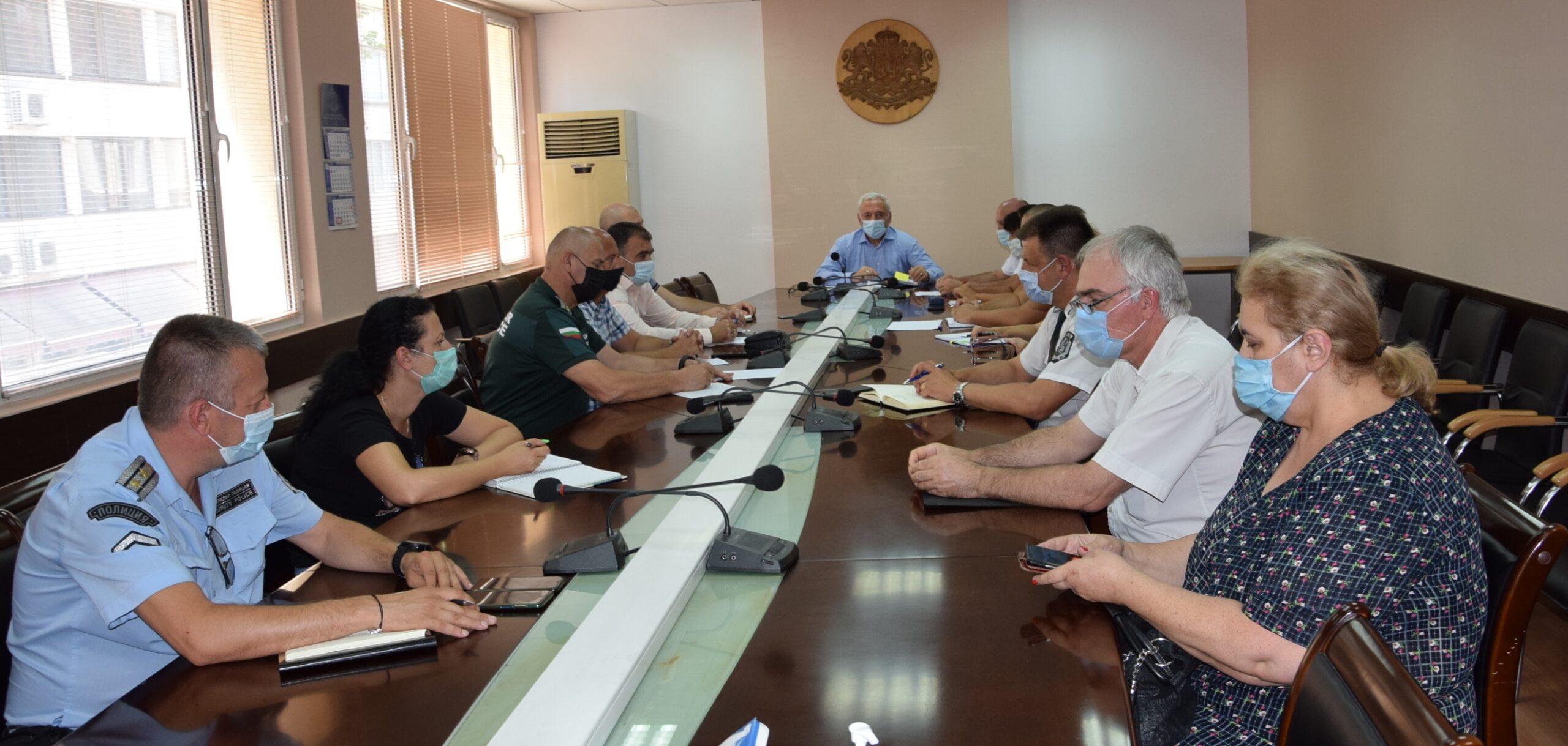 Областният щаб във Видин прие мерки за ограничаване на COVID – 19