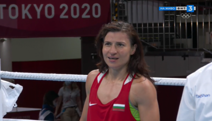 Стойка Кръстева се класира за полуфиналите по бокс и донесе втори медал за България в Токио